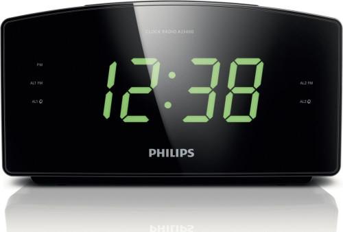 Philips Alarm Clock Radio 1080 HD Hidden Camera w WiFi Remote Viewing