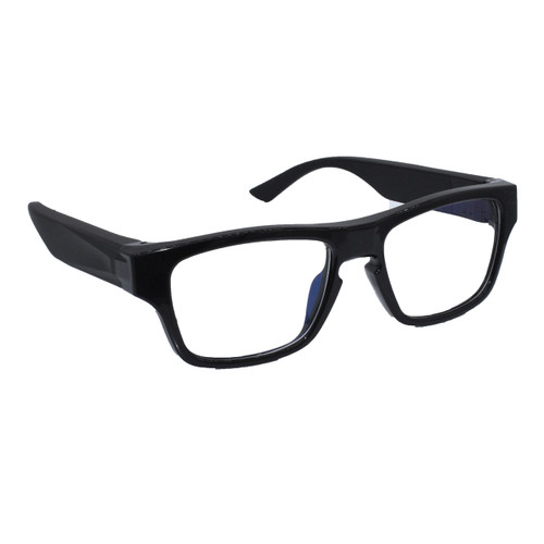 1080P HD Full Frame Spy Camera Glasses w/ Interchangeable Battery Arms