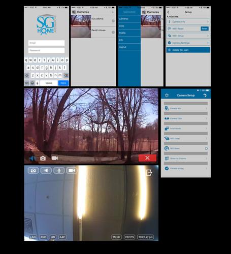 Blu-Ray DVD Player Hidden Camera w/ DVR Wifi Remote View