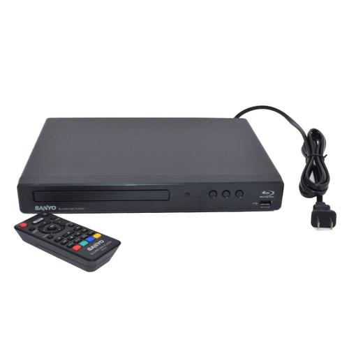 Blu-Ray DVD Player 4K Hidden Camera w/ DVR & WiFi Remote View