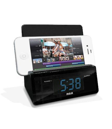 RCA Clock Radio Hidden Camera w/ Wi-Fi Remote Viewing