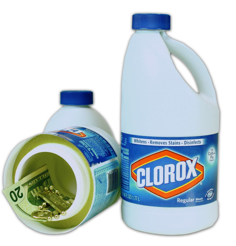 Clorox Bleach Bottle 4K Hidden Camera w/ DVR & WiFi Remote Viewing + Battery
