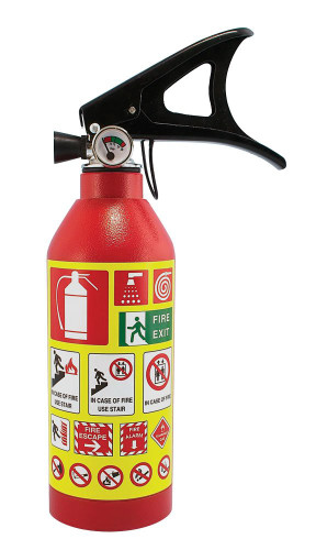 Fake Fire Extinguisher 4K Hidden Camera w/ DVR & WiFi Remote Viewing + Battery