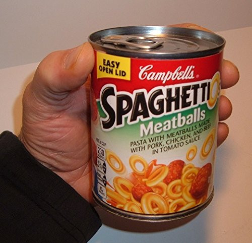 Spaghetti Can Hidden Camera w/ DVR & WiFi Remote Viewing + Battery