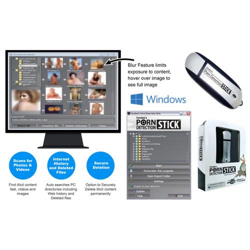 Porn Detection Stick for Windows OS