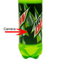 Soda Bottle Hidden Spy Camera w/ Motion Detection
