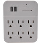 Wall Outlet Adapter 4K Hidden Camera w/ DVR & WiFi Remote View
