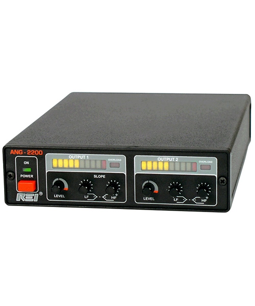 ANG-2200 Acoustic Noise Generator Protect Private ConversationsThe ANG-2200 Acoustic Noise Generator creates a perimeter of noise that defeats acoustic leakage eavesdropping devices including wired microphones inside walls, contact microphones, audio transmitters located in AC outlets, and laser/microwave reflections from windows.Efficiency: offers two channels, each with high and low frequency control to compensate for material composition, with truly random noise sourcesUsability: masking system injects noise into the environment perimeter and not directly into the environmentallowing normal conversation while defeating eavesdropping devicesPortability: optional accessories (transducer, omnidirectional speaker, window mounts) can be purchased to tailor the ANG-2200 to the environment of concernThe ANG-2200 injects tuned masking noise into perimeter structures to mask structure-bound audio. Acoustic Spectrum Analysis Software (ASA-2000) ensures the masking noise is properly adjusted to provide adequate masking without being too loud or disruptive.  True random noise source with no statistical repeatability  Independently controlled dual channels for use on different structures  Tunable masking noise for specific environmental requirements  Provides an eavesdropping defense against devices that may not be detected by conventional methods System configuration should be tailored to the environment.FeaturesTwo separate channelsTruly random noise sourcesHigh and low frequency controlsOverload protectionApplicationsTechnical Surveillance Countermeasures (TSCM)Counter SurveillanceAudio MaskingNoise GenerationEavesdropping PreventionIntelligence ProtectionExecutive ProtectionSpecificationsCHANNELIndependent random noise sourceOutput voltage: 12 Vp-p @ 6 Ω (2 Ω min load)Frequency range: 125 Hz - 4 kHzEqualizer: LF 180 Hz  12 dB, HF 3 kHz  12 dBPOWER15 VDC @ 1 A (AC adaptor supplied for 120 or 240 VAC)MECHANICALUnit dimensions: 1.6 x 5.5 x 8 in  (4.1 x 14.0 x 20.3 cm)Unit we