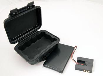 Pelican Case & 75-hour Extended Battery Combo Pelican Case & 75-hour Extended Battery ComboWeatherproof case, extended battery, portable trackingPelican! Case & 75-hour Extended Battery ComboSpecifications:Product Category: Accessories