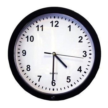 Wall Clock Hidden 4K Camera w/ DVR (90-Day Standby Battery) Stunning 4K HD Video + 120 FPS For Spectacular Image QualityThis is the ultimate video quality you can get for camera that will capture the most pristine detail for a brilliant visual experience. All the video being recorded is in crisp & super clear 4k HD quality color video using the powerful high speed Sony IMX326 sensor. That's a total of 2280x2160 pixels with a 2.2F aperture. This ensures youll be able to make out all the details of activity in the room youre recording with incredibly fluid, smooth motion at up to 120 FPS. You'll be amazed at the detail that can be captured ensuring you'll never miss a moment. In addition, the camera lens shoots at an incredible 120 Field of View. At 120 youll be able to see most of your room, edge to edge without missing a thing.  All the video is recorded in AVI format using h.264 compression into time/date stamped files for easy saving, emailing or playback on your PC or Mac computer. 90-Day Rechargeable Battery Means No Visible WiresWhen you need to either quickly drop-and-go your hidden camera or place it in an area where outlets are not an option, this system comes with a removable and rechargeable battery that gives you up to 90 days of juice on stand-by when you choose the motion activation setting. This means your camera will sit in a dormant state, conserving power until motion is detected, then it will instantly power on to capture everything, without missing a moment. Alternatively, you can get up to 16 hours of battery life on continuous recording mode. The included 10,000 mAh Li-ion battery takes about 9 hours to recharge. Record Weeks Of HD Video Onto A Removable SD Card Using an optional 128GB SD card, youll never run out of video memory. If you choose continuous mode, you'll get up to 43 hours of video. With adjustable frame rate controls of 4k, 2k, 1080p, 720p at optional frame rates of 30/60/120 FPS, its easy to capture weeks to months of hidden vide