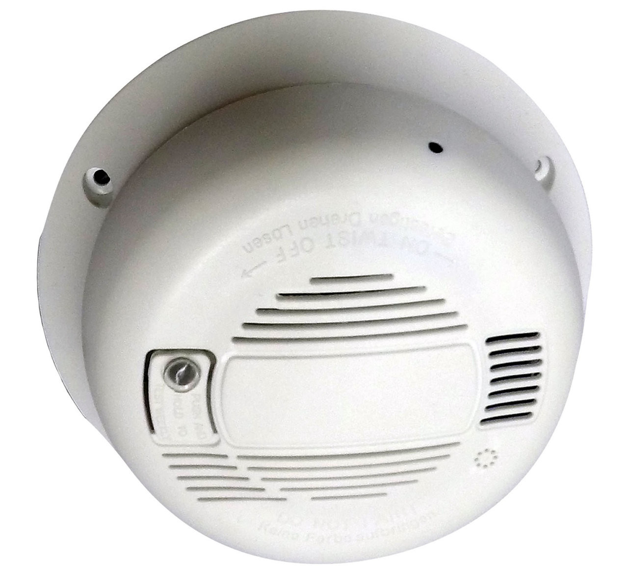 Smoke Detector Hidden Camera (Horizontal) w/ DVR & WiFi Internet Remote Live View Stunning HD Video Streaming Live On PC or Any Smart DeviceAll the video being recorded is in crisp & clear quality color video directly onto your PC computer using the free software in HD Video . This ensures youll be able to make out all the details of activity in the room youre recording. In addition, the camera lens shoots wide Field of View of 90 deg horizontal with a 3.8mm focal length so youll be able to see most of your room, edge to edge without missing a thing.  All the video is recorded in avi format using mpeg compression with time/date stamped files for easy saving, emailing or playback on your PC or Mac computer.Important: MAC COMPUTERS: Live viewing & recording is not Mac computer compatible. Live view works only when using the free app for iPhone or iPad.Record Weeks Of Video Onto A SD Card Or Your ComputerUsing an optional SD card, or your computer to stream to youll never run out of video memory. The choice is yours. This product streams & records directly to software running on your local PC computer  (sorry, no macs). You also have the option of using this to stream video only to any mobile device. With adjustable frame rate controls, its easy to capture weeks to  months of hidden videos. This, along with motion activated recording will give you virtually unlimited video recording time depending on your hard drive size in your computer. The easy to use software will allow you to view up to 32 different cameras from different locations on a single screen. Time/Date Stamp For Quick ID Provides Unquestionable Proof All of the video and recorded video files have time and date stamped directly onto the video. This provides clear-cut proof of exactly when the event occurred. Easy-To-Use Settings For Up To 32 Remote CamerasNothing complicated here. The hidden camera is ready-to-go out of the box. All you need is to have access to high speed internet via your wireless router