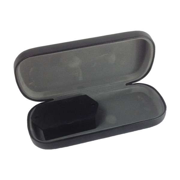 Eyeglass Case Hidden Camera w/ Motion Detection Recording Record Stunning 1920x1080p Color Hidden HD VideoHiding within this ordinary looking product is powerful removable hidden camera. Youll be able to see most of your room, edge to edge without missing a thing.  All the video is recorded in MPEG on time/date stamped files for easy saving, emailing or playback on your PC or Mac computer. It records stunning 1920x1080p video at 30 FPS. Either record continuously or use the motion detection setting to record directly onto a removable SD card.17 Hour Standby Rechargeable Battery For Surveillance On The GoWhen you need to either quickly drop-and-go your hidden camera or place it in an area where outlets are not an option, this system comes with a removeable and rechargeable battery that gives you up to 17 hours of continuous juice on standby when you choose the motion activation setting. This means your camera will sit in a dormant state, conserving power until motion is detected, then it will instantly power on to capture everything, without missing a moment. When on continuous, the battery will last about 7 hoursRecord Weeks Of HD Video Onto A Removable SD Card Using an optional 32GB SD card, youll get hours of continuous video, or with motion activation mode only, you'll never run out of video memory quickly. The choice is yours. Additionally, youll be able to hot-swap SD cards by easily removing a filled up one, and replacing it with a fresh blank card. This way youll quickly be able to bring the footage back to your computer for review without ever missing important video.Time/Date Stamp File Names Provides Unquestionable Proof All of the video and recorded video files have time and date stamped directly on the video. This provides clear-cut proof of exactly when the event occurred.Easy-To-Use Settings For Recording & PlaybackNothing complicated here. The hidden camera is ready-to-go out of the box with motion detection settings. Simply unpack, and plug into an outlet to fully charge. Youre all set. When youre ready to