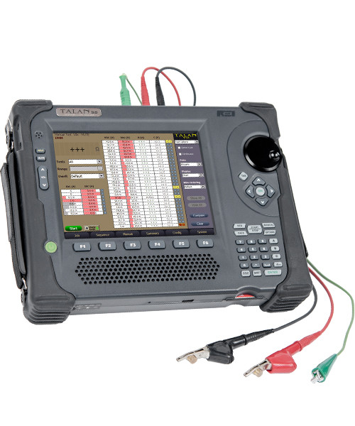 TALAN™ 3.0 Telephone & Line Analyzer Efficiency: compares the results of multiple tests on multiple phone lines to quickly identify threatening anomaliesUsability: combines several countermeasure testing capabilities into a single piece of equipment (voltage, current, resistance, capacitance, non-linear junction detection, frequency domain reflectometry, and digital demodulation technology)Portability: weighs only six pounds and data can be exported for further analysis and reportingFeaturesCombines multiple testing capabilities into a single piece of equipmentAutomatic internal pair switching matrix performs tests on all pair combinationsExtensive, advanced VoIP traffic filtering makes it easier to locate and identify suspicious packet informationThe patent-pending Fast Fourier Transform (FFT) algorithm converts network traffic into a spectrum view, creating visually identifiable patterns not easily noticed in a traditional packet listQuickly performs common test functions including:Multimeter tests (voltage, current, resistance, capacitance)RF Broadband Detector (up to 8 GHz)Spectrum Analyzer (up to 85 MHz)High Gain Audio AmplifierBias Generator 80 VDCAudio Oscilloscope with active input (20 Hz to 20 KHz)Digital demodulation available to confirm that the telephone line is not passing audioFrequency Domain Reflectometer (FDR) to check for taps on the lineNon-Linear Junction Detector (NLJD) functionality to detect electronics connected to a lineMulti-test database system provides the ability to perform tests on all pair combinations, storing data for historical comparison and comparison against other linesApplicationsTechnical Surveillance Countermeasures (TSCM)Counter SurveillanceWire Tap DetectionTelephone Line TestingPhone Line AnalysisEavesdropping DetectionIntelligence ProtectionExecutive ProtectionSurveillance Equipment DetectionElectronic Surveillance DetectionAccessoriesProbes & AntennasHarmonic Locator ProbeUsed for tracing wires and determining the location of any electronics connected to the