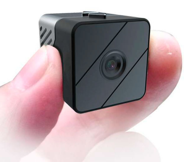MiniCube 1080P Camera w/ 20' Night Vision & 1 Year Stand-by Battery Record Stunning 1080p HD Video Even In Complete DarknessAt only 1.9 ounces, about the size of a smart phone, this is truly the smallest HD video camera that comes with all these incredible features. With simple, easy-to-use features, this is the perfect camera to take anywhere you can imagine. It records at 1080p video in AVI format at 30 frames per second with stabilizing features to keeps away blur and distortions.Smallest & Lightest Action Camera Takes Incredible 110 VideoThe camera has an exceptional 110 wide angle provides a wide view angle for you to capture the most view possible without distorting the image. All footage is saved to the included 16GB Micro SD card, or use a 32GB that is easy to swap out.Invisible Night Vision IRs Capture Video In Darkness Up To 20' AwayAutomatically, you the device will instantly enable the night vision mode and capture subjects up to 20 feet away. Using the six 940 IR sensors, there will be no obvious red lights to give away that you are recording in darkness that cheaper products use because of older, outdated technology. Note - night vision is always in a high quality black & white mode. Color is daylight only.Motion Activated Recording Power Saving Mode Lasts Up To A Year (or more)Using the PIR motion activation switch, you can change from recording all the time, to motion activated only recording that detects a 45 degree angle of motion. This way battery life can remain in standby mode for up to a year until it is activated by motion. The more motion that is present, the quicker battery life will drain. The unit comes complete with built-in quality rechargeable battery that fully recharges in just two hours, by plugging directly to a USB port. Once unit is charged, it is capable of recording for up to 4 hours continuously, or about 1.5 hours continuous recording if night vision mode is active. Note: Small indicator light on the bottom which is hidden on the surface alerts  user  motion activation feature has started. Thi