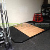 York Wooden Powerlifting Platform
