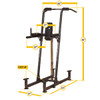 Body Solid VKR Station Dimensions