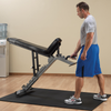 Body-Solid FID Bench with Wheels