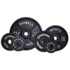 Troy USA Sports Black Iron Olympic Plates