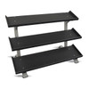 Inflight (#5007-3) 3-Tier Dumbbell Shelf Rack