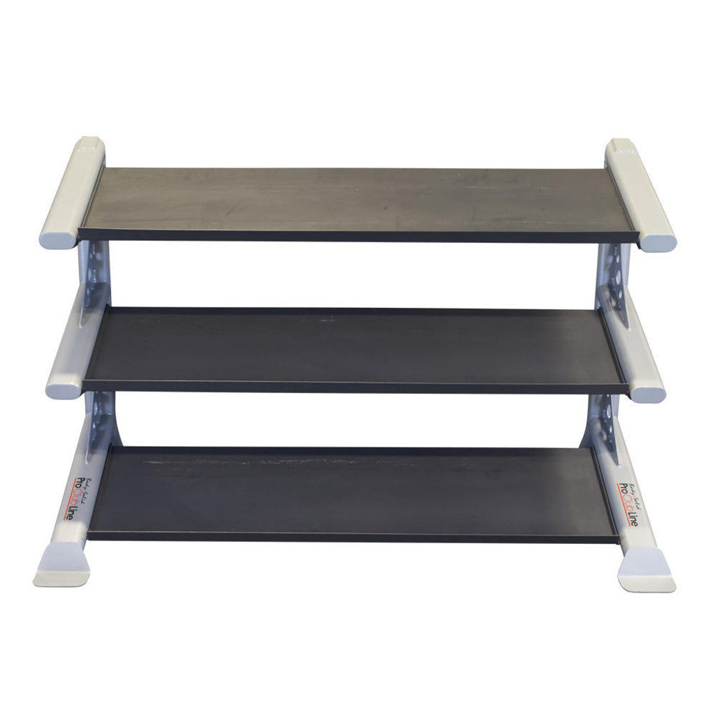 Body Solid Commercial 3-Tier Dumbbell Rack