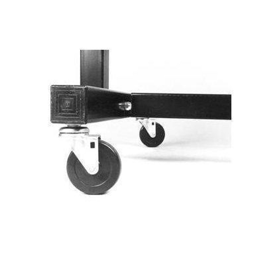 Optional Casters for Troy MDR Aerobic Weights Rack