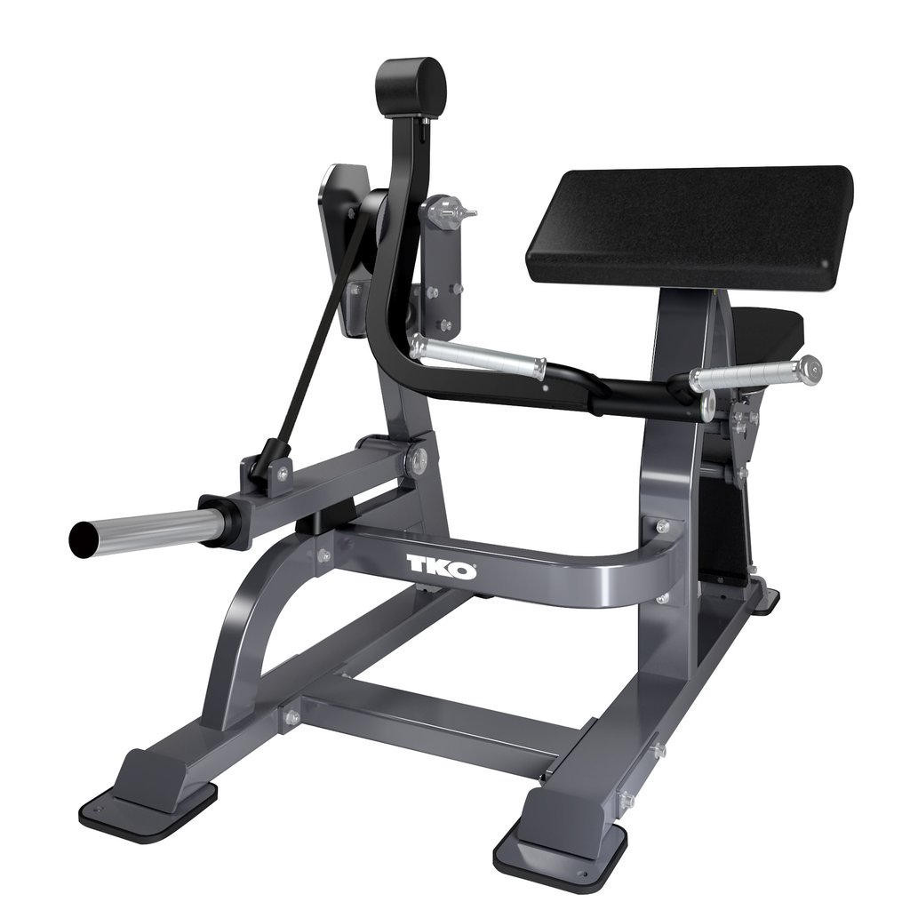 TKO Commercial Plate Load Bicep Machine Curl - 915BC