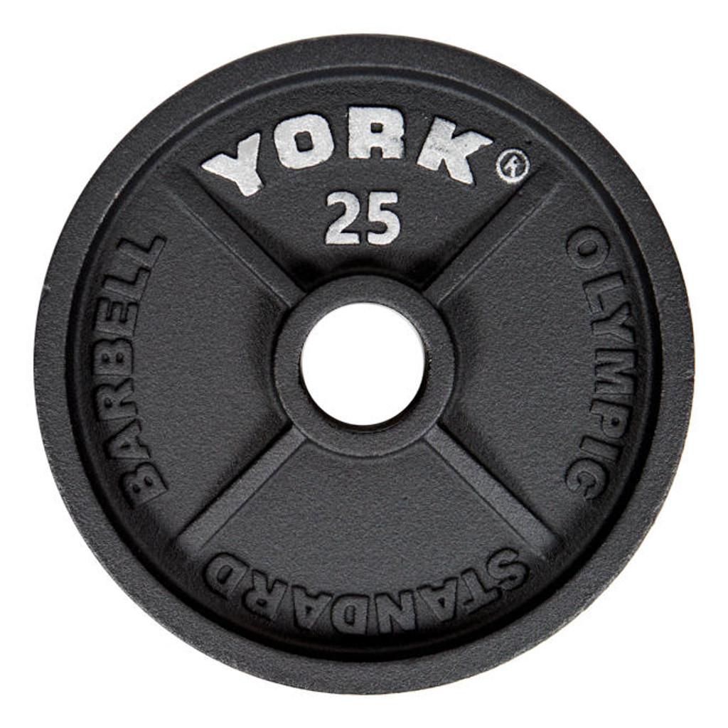 York 25 lb Gym Workout Plate