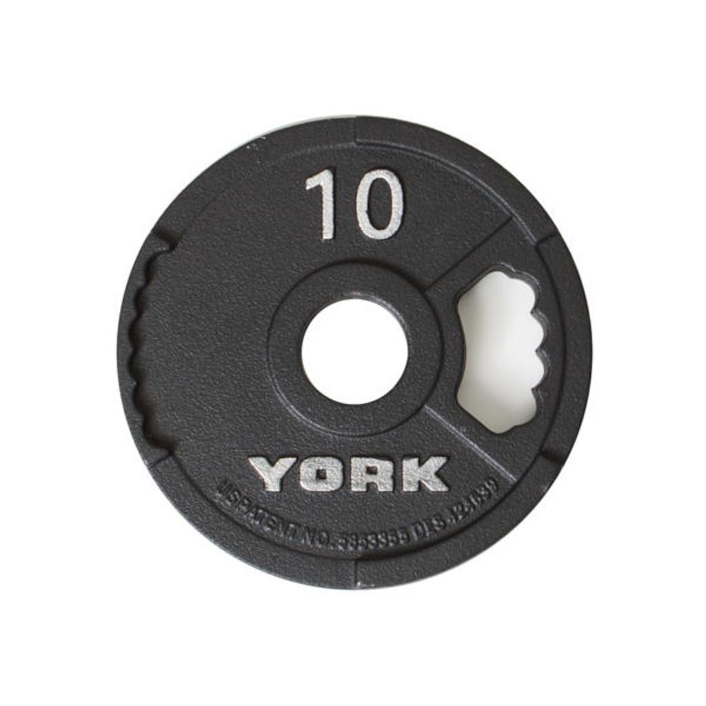 York 10 lb Grip Plate