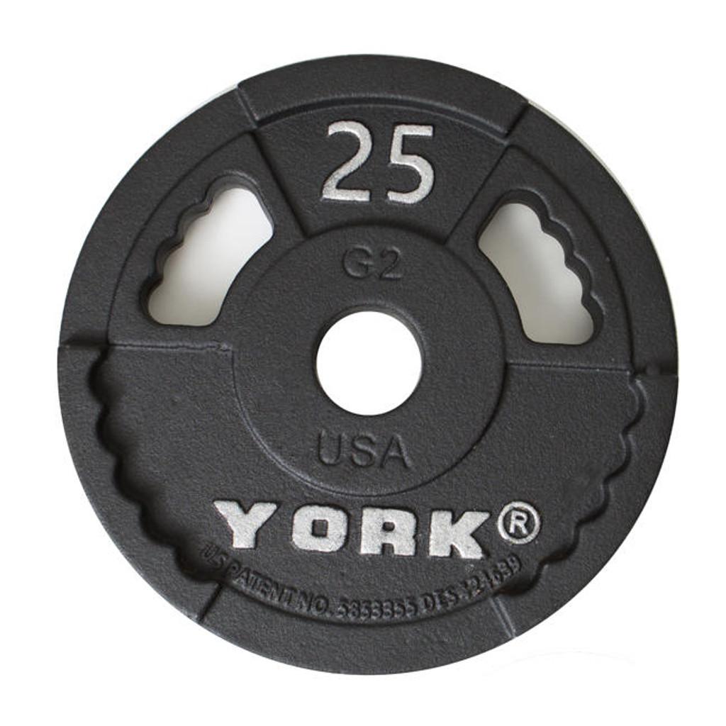 York 25 lb Cast Iron Plate