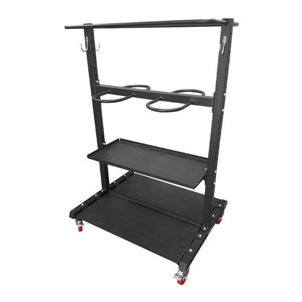 TAG Gym Equipment Storage Rack with Wheels