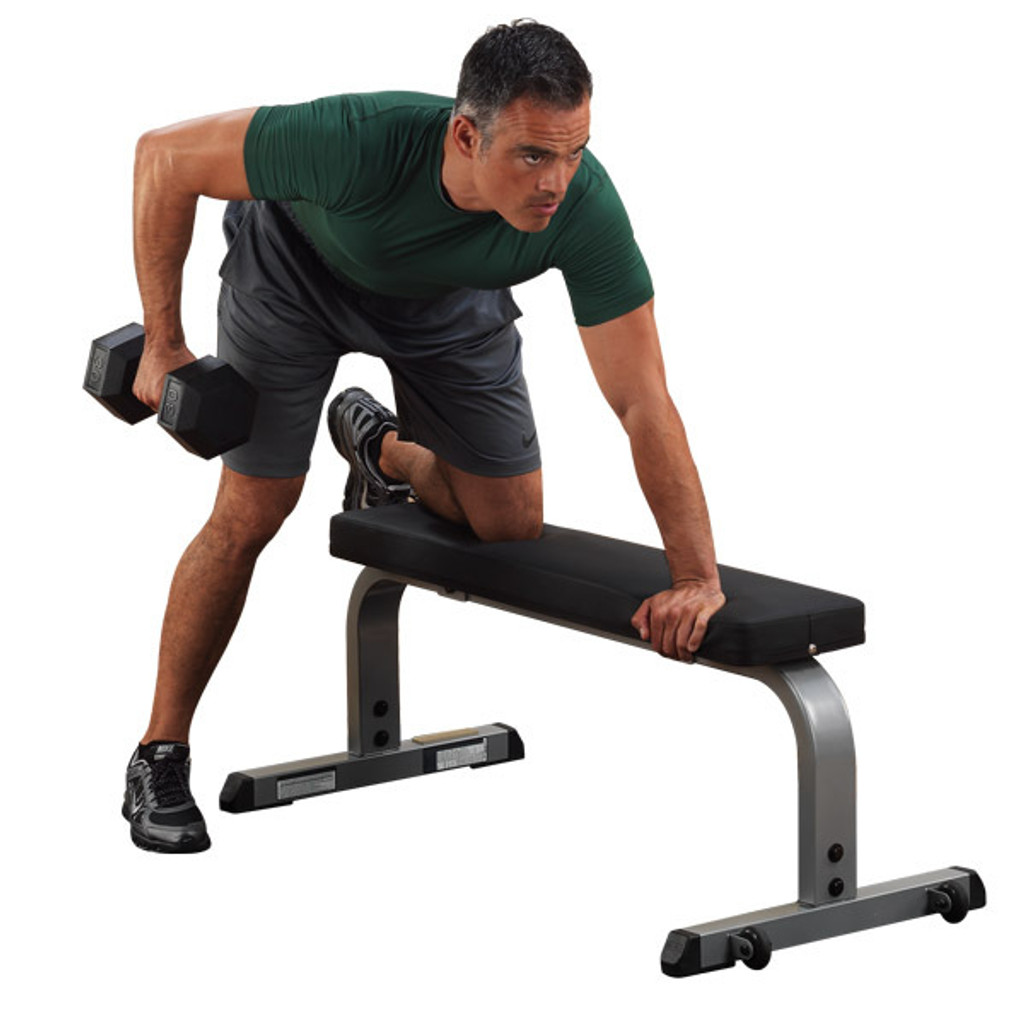 Body Solid Flat Dumbbell Weight Bench