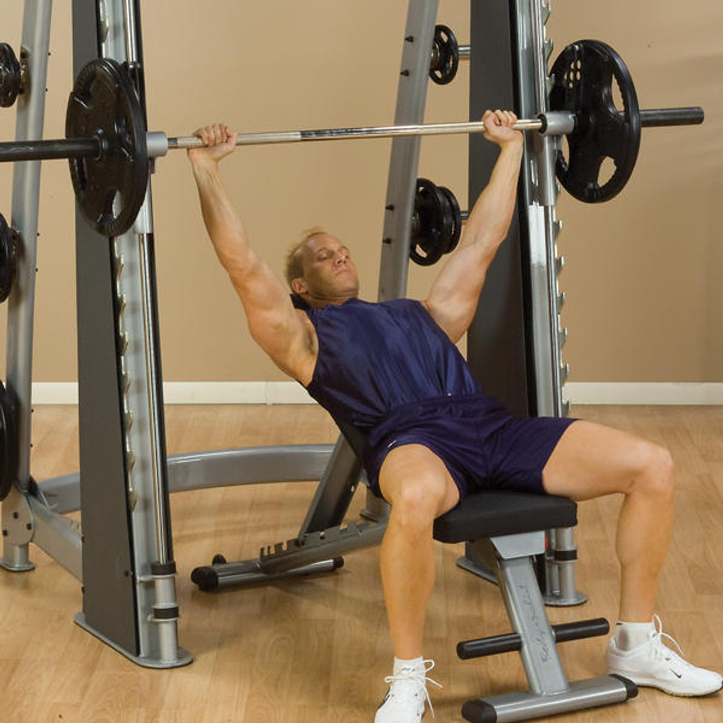 Body Solid Commercial Smith Workout Machine