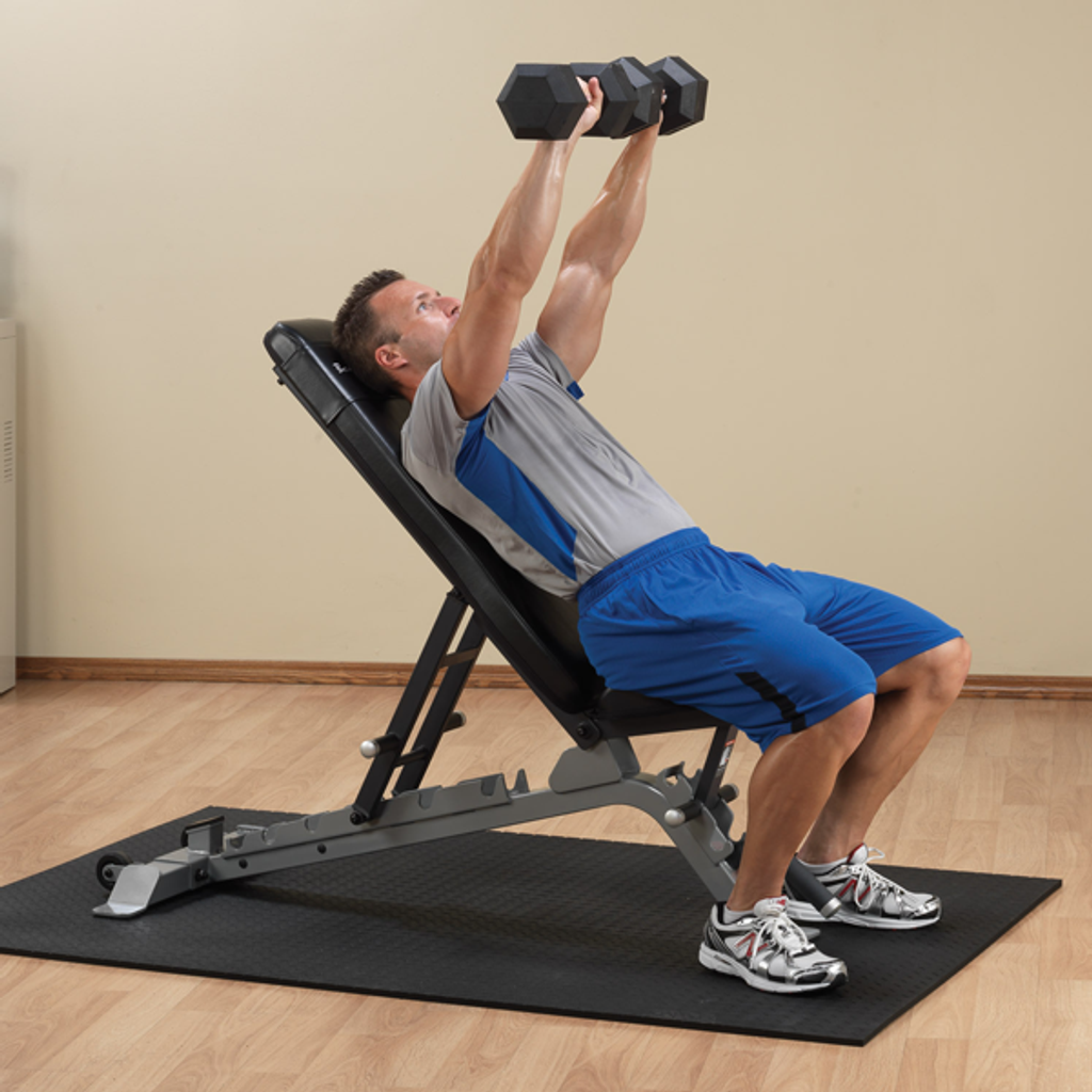 Body Solid Pro Adjustable Weight Lifting Bench