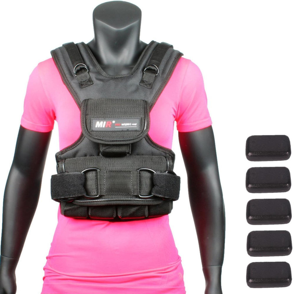 MiR Woman Weighted Exercise Vest