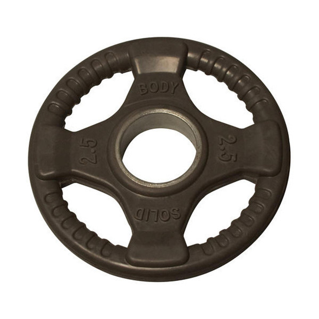 2.5 lb. Body Solid Rubber Grip Plate