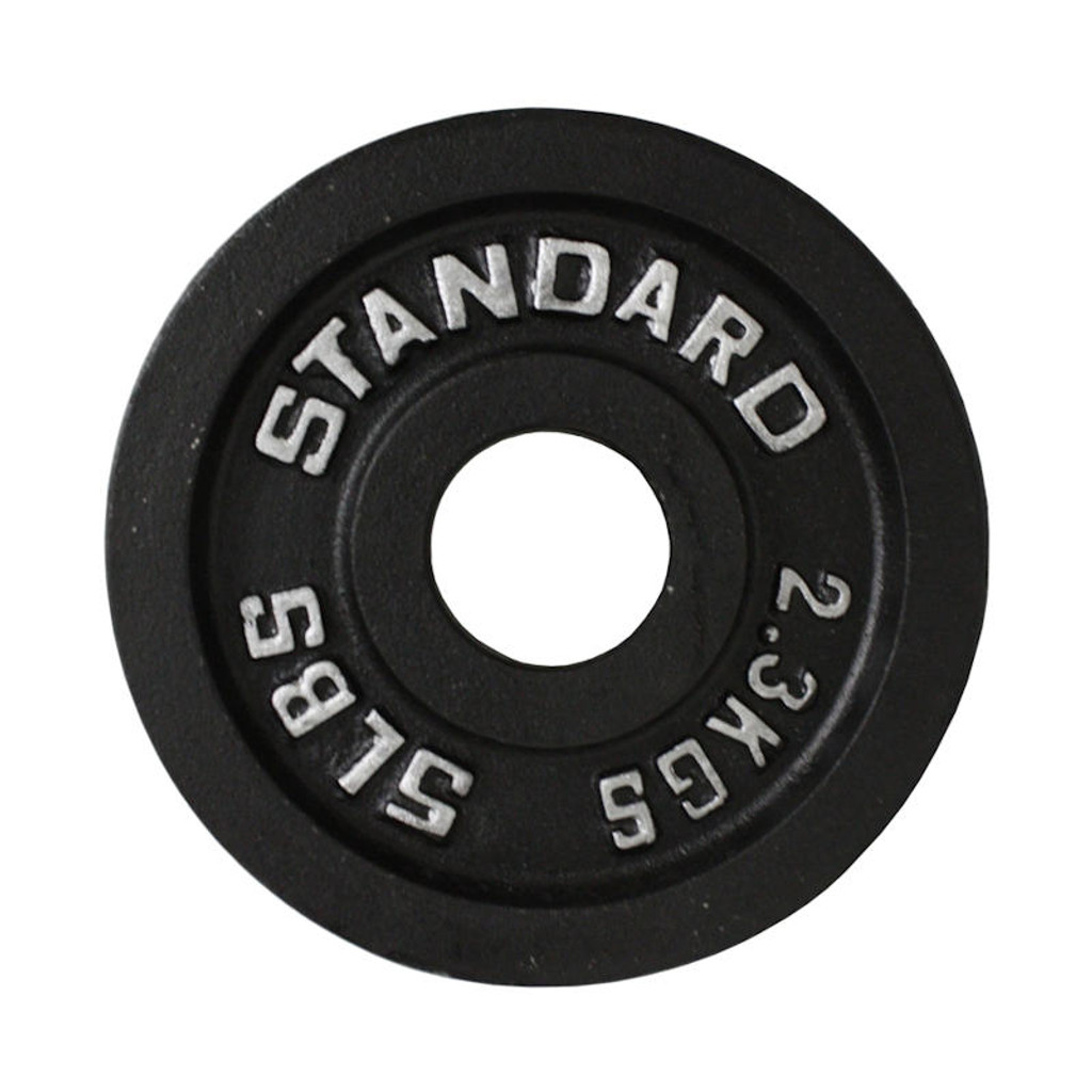 5 lb. Troy USA Sports Black Weight Plate