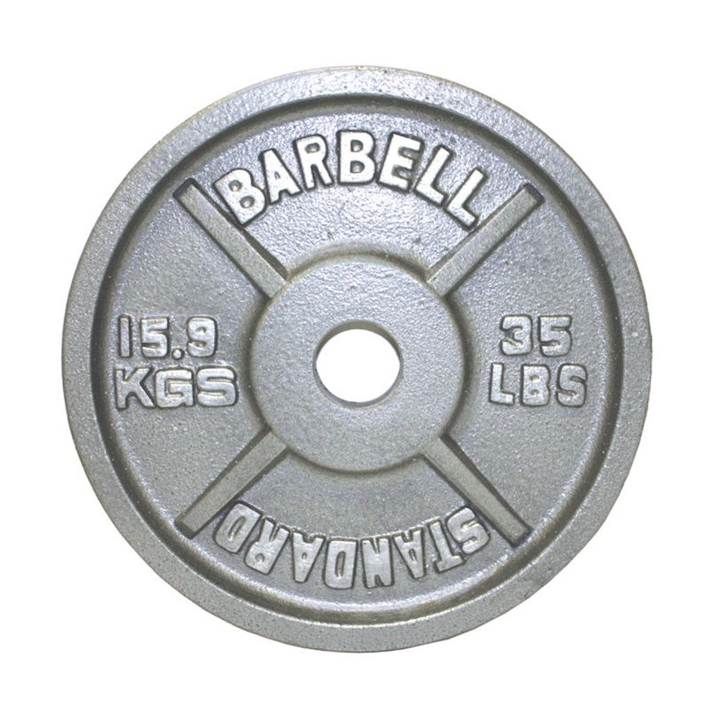 35 lb. Troy USA Sports Economy Weight Plate