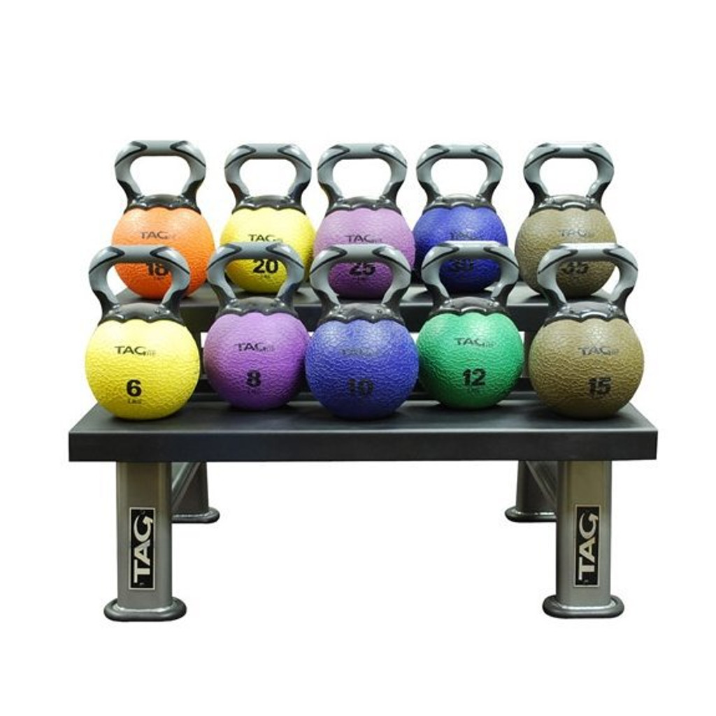TAG Fitness Commercial Kettlebell Storage Rack