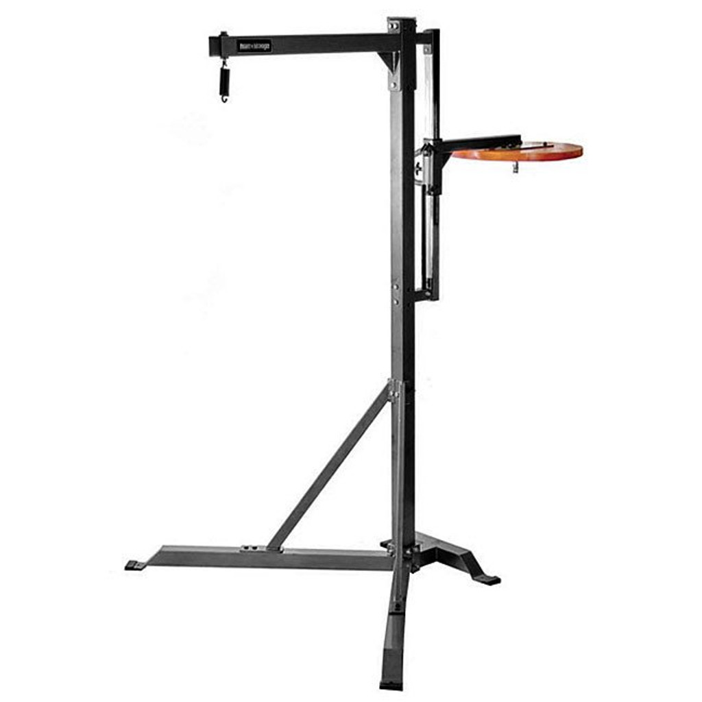 Fight Monkey Heavy Bag Stand with Speed Bag Platform