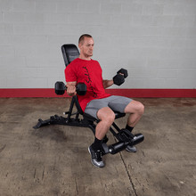 Body Solid Dumbbell Bench - Incline Position