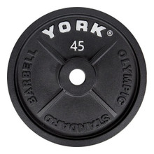 York 45 lb Olympic Plate
