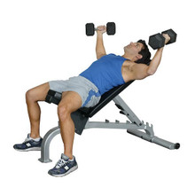 Inflight Fitness Commercial FID Weightlifting Bench