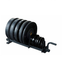 York Barbell Horizontal Weight Plate Rack