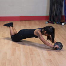 Body Solid Ab Workout Wheel