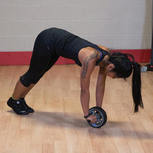 Body Solid Ab Rollout Exercise Wheel
