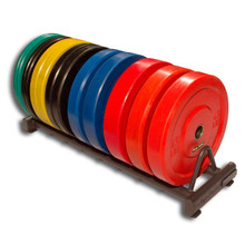 Body Solid Bumper Plate Weight Rack