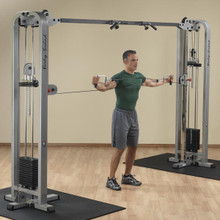 Body Solid Adjustable Pulley Cable Machine