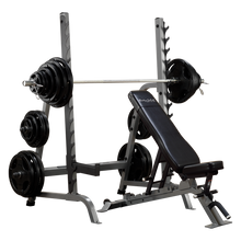 Body Solid Squat/Bench Combo Rack - SDIB370