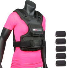 MiR Female Workout Vest with Weights