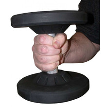 York Commercial Rubber Coated Pro Style Dumbbell